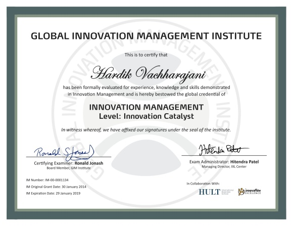 GIMI Certification_2014-0130_Hardik Vachharajani